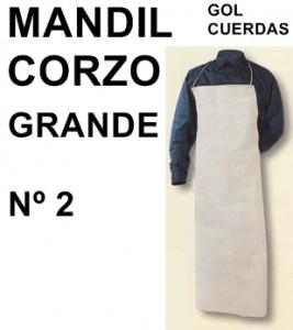 MANDIL CORZO GOL CUERDAS