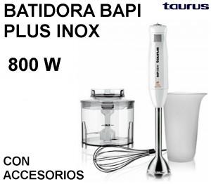 BATIDORA BAPI PLUS INOX TAURUS