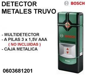 DETECTOR METALES TRUVO BOSCH
