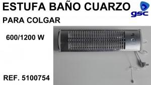 ESTUFA BAÑO CUARZO GSC