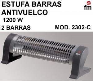 ESTUFA BARRAS ANTIVUELCO FM