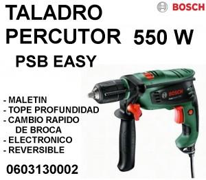 TALADRO PERCUTOR 550W BOSCH
