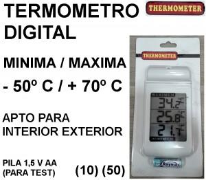 TERMOMETRO DIGITAL THERMOMETER