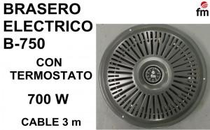 BRASERO ELECTRICO B-750 TERMOSTATO FM (1)