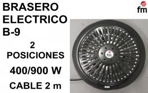 BRASERO ELECTRICO B-9 FM (1)