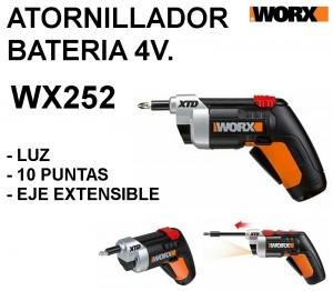 ATORNILLADOR BATERIA WX252 WORX